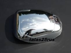 Накладка на зеркало. Toyota Land Cruiser Prado, GRJ120, GRJ120W, GRJ121, GRJ121W, KDJ120, KDJ120W, KDJ121, KDJ121W, KDJ125, KDJ125W, KDJ90, KDJ90W, KD...