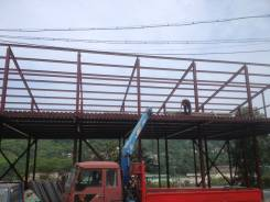 Металлоконструкции монтаж-демонтаж. Расширение балконов.