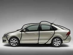 Направляющая стекла. Volkswagen Polo