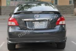 Спойлер. Toyota Yaris Toyota Belta