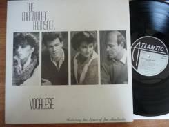 JAZZ! Манхэттэн Трансфер / Manhattan Transfer - Vocalese - 1985 US LP