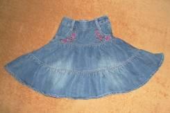 Юбки джинсовые. Рост: 116-122 см