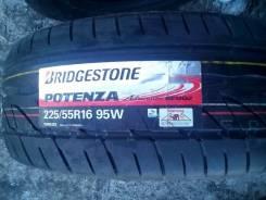 Bridgestone Potenza RE002 Adrenalin. Летние, 2012 год, без износа, 4 шт
