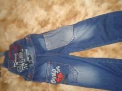 Комбинезоны джинсовые. Рост: 104-110 см