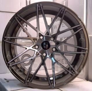 Комплект Klutch KM20 18*9,5 +35 ! NEW! 5х114,3 llStore ! Bronze!. 9.5x18, 5x114.30, ET35, ЦО 73,1мм.
