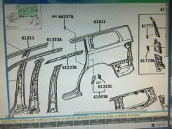 Крыло. Toyota Sequoia, UPK60, USK65, UCK60, UCK65, UPK65, USK60 Двигатели: 1URFE, 3URFE, 2UZFE