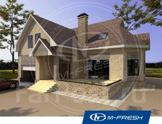 M-fresh Forest action-зеркальный (Определимся с фундаментом, кровлей). 200-300 кв. м., 1 этаж, 5 комнат, каркас