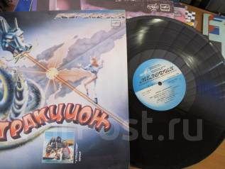 Виниловые пластинки. Аттракцион 1987
