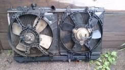 Радиатор охлаждения двигателя. Mazda Familia, BJEP Двигатель RF