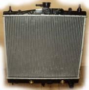 Радиатор охлаждения двигателя. Nissan Micra, K12 Nissan Note, E11E, E11