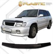Дефлектор капота. Subaru Forester, 97, 00