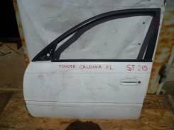Дверь Toyota Caldina ST210, FL