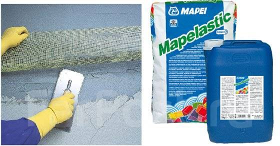 Mapei гидроизоляция mapelastic гидроизоляция штукатурная
