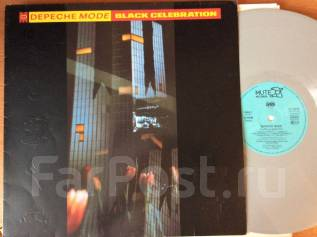 Depeche Mode - Black Celebration - 1986 DE LP цветной винил красота