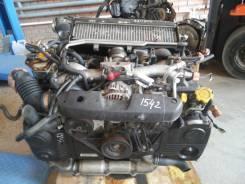 Двигатель в сборе. Subaru Forester, SG5 Двигатели: EJ205, EJ20
