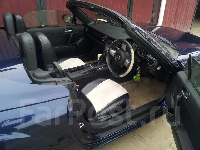 Mazda Roadster. автомат, задний, 2.0 (170л.с.), бензин, 60 000тыс. км