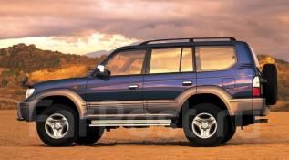 Рейлинг. Toyota Land Cruiser Prado, KZJ71G, KZJ71W, KZJ78G, KZJ78W Двигатель 1KZTE