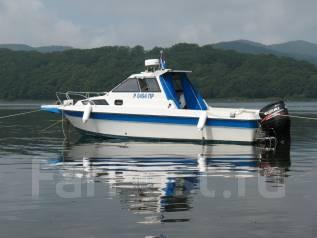 Комфортный и быстрый катер для вашего отличного отдыха. Острова Рыбалка. 8 человек, 65км/ч