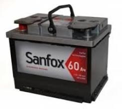 Sanfox. 60 А.ч.
