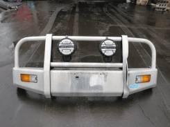 Бампер. Mitsubishi Pajero Mini, H53A, H58A, 53A Двигатели: 4A30, 4A30T