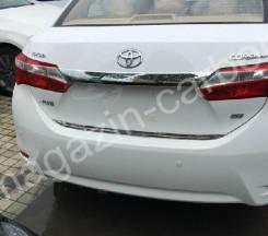 Накладка багажника. Toyota Corolla