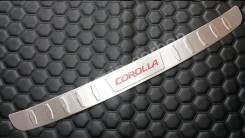 Накладка на бампер. Toyota Corolla