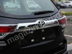 Накладка багажника. Toyota Highlander