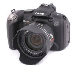 Canon PowerShot SX1 IS. 10 - 14.9 Мп, зум: 14х и более