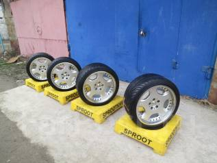 OZ Racing. 10.0/8.5x18, 5x114.30, ET38/38, ЦО 75,0 мм.
