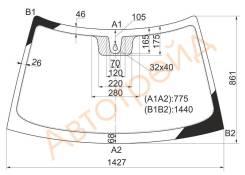Стекло лобовое в клей Lada (110-SeriesS) Priora 99- д.д. (N0127781)