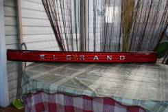 Накладка на дверь багажника. Nissan Elgrand, NE51