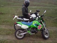 Kawasaki. 50 куб. см., исправен, без птс, с пробегом