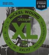 D`Addario EXL117 XL Nickel Wound Струны для электрогитары