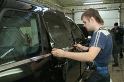 Тонировка стекол и бронирование пленкой кузова авто