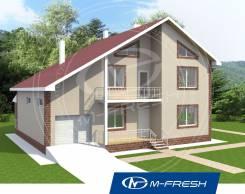 M-fresh Atlantic-зеркальный. 200-300 кв. м., 2 этажа, 5 комнат, комбинированный
