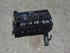 Блок предохранителей. Nissan Bluebird, EU14 Двигатель SR18DE