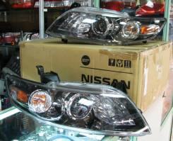 Фары комплект новые оригинал тёмный хром Infiniti S50 FX35 FX45 03-08