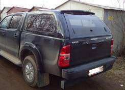 Кунг на Toyota Hilux, крышка багажника, вкладыш. Под заказ