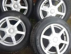 Bridgestone. 6.5x15, 5x100.00, 4x114.30, ET48, ЦО 73,0мм.