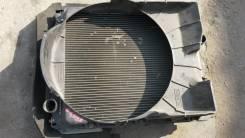 Радиатор охлаждения двигателя. Mitsubishi Canter, FG538 Двигатель 4D35