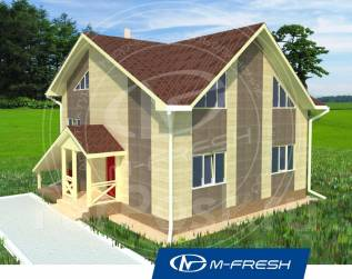 M-fresh James Bond-зеркальный. 200-300 кв. м., 2 этажа, 6 комнат, бетон