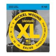 D`Addario EXL125 Nickel Wound Super Light Струны для электрогитар 9-46