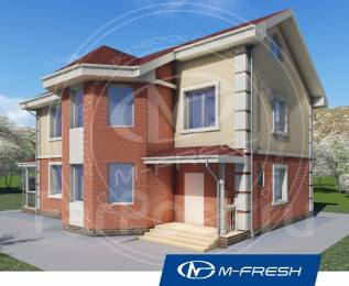 M-fresh Success plus (Давайте ярко и свежо жить на природе! ). 200-300 кв. м., 2 этажа, 6 комнат, бетон