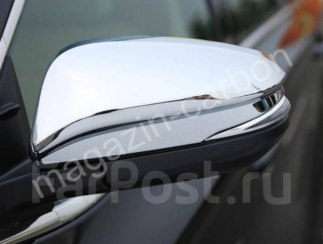 Накладка на зеркало. Toyota Highlander, GSU50, ASU50, GSU55 Двигатели: 2GRFKS, 2GRFXS, 1ARFE