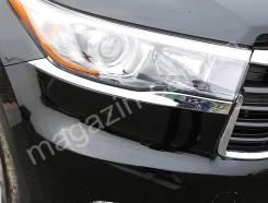 Накладка на фару. Toyota Highlander