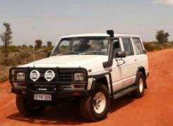 Решетка бамперная. Nissan Safari, 160 Nissan Patrol, 160