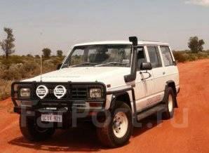 Решетка бамперная. Nissan Safari, 160 Nissan Patrol