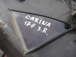 Стекло боковое. Toyota Carina, AT170