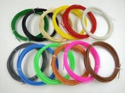 Комплект пластика для 3D ручек 12 цветов (120 метров) 3д ручка