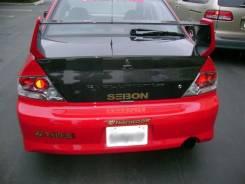 Багажный отсек. Mitsubishi Lancer Evolution Двигатель 4G63T